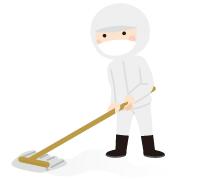 サンプランの特殊清掃・消臭作業